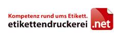 Logo des Etikettenprofis Etikettendruckerei.net aus Wuppertal